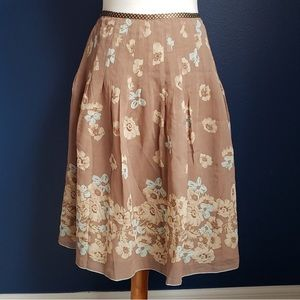 The Limited size 8 floral skirt